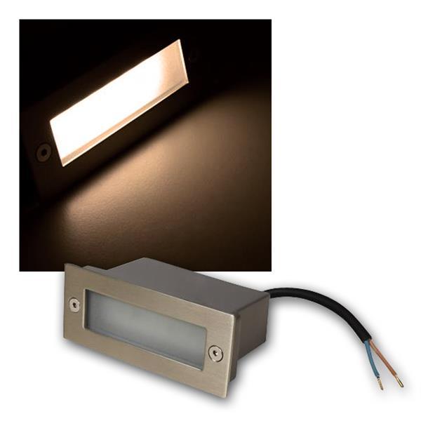 LED-Einbauleuchte LER-12WW, warmweiß, 110x44mm