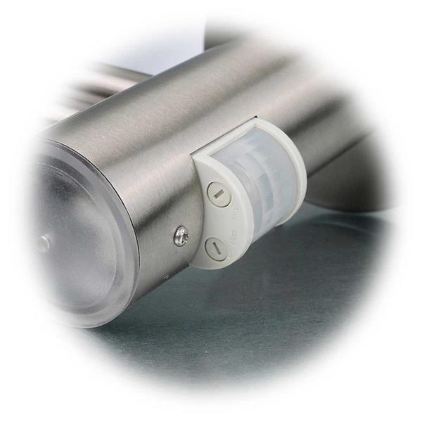 Wandleuchte mit Bewegungsmelder für Leuchtmittel bis 60W
