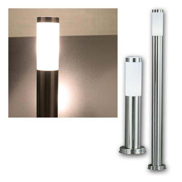 LED Gartenleuchte GL-H45/H110, Edelstahl, 230V
