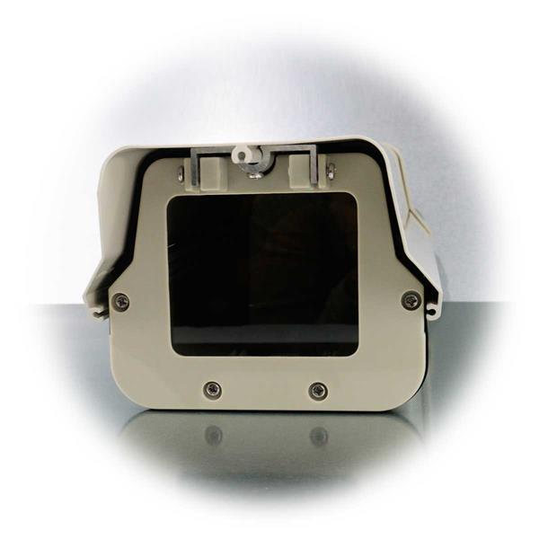 Aufklappbares Kameragehäuse aus Aluminium