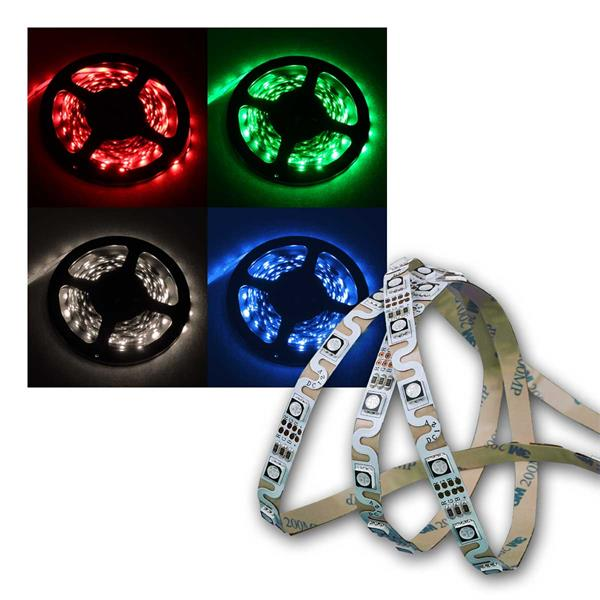 Winkel/Radius-SMD-LED-Strip, 240 LEDs, 5m, RGB