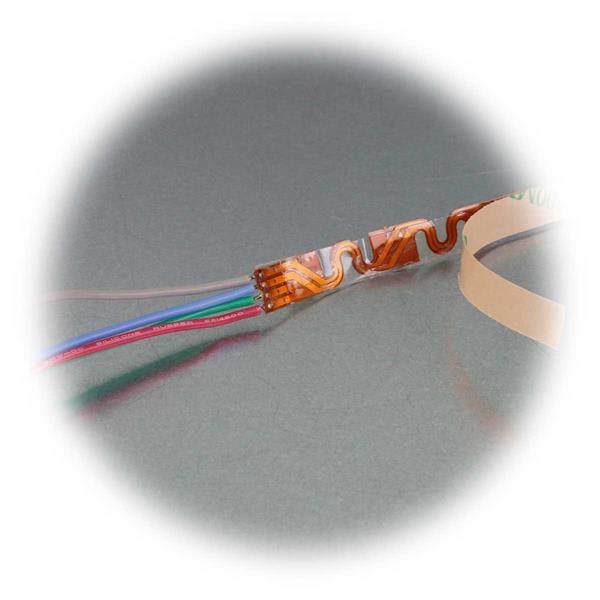Winkel/Radius-SMD-LED-Strip mit Klebestreifen zur Montage