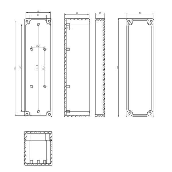 Modulbox für den Einsatz im Innen- wie auch im Außenbereich