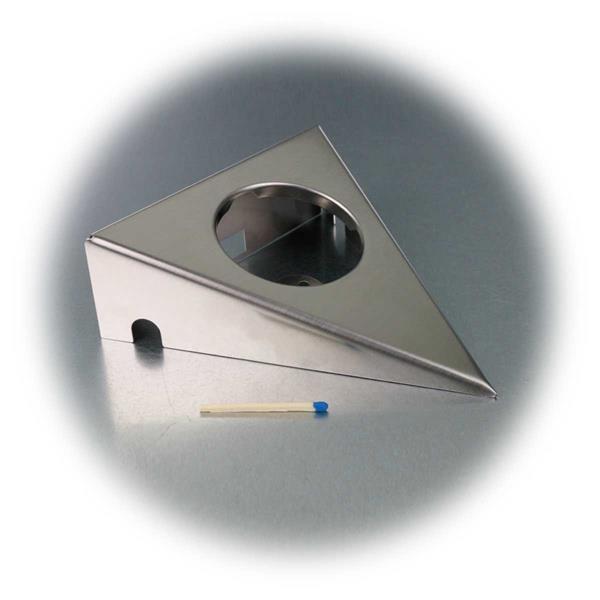 stylischer Rahmen in Dreiecksform für LED Einbaustrahler OHIO2