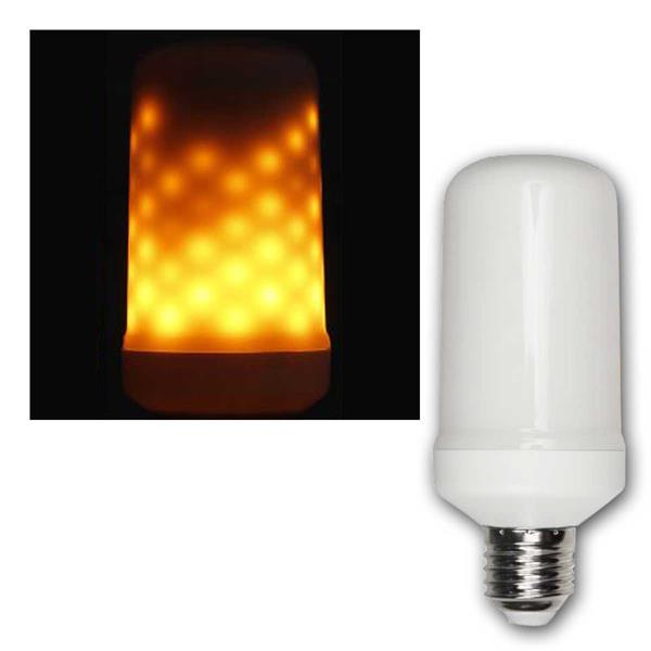 LED Flammen-Lampe Schwerkraft-Sensor, 5W, 1300K