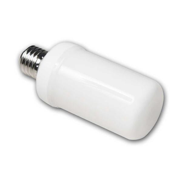 LED Leuchtmittel E27 mit 3 Leuchtmodis mit opaler Abdeckung