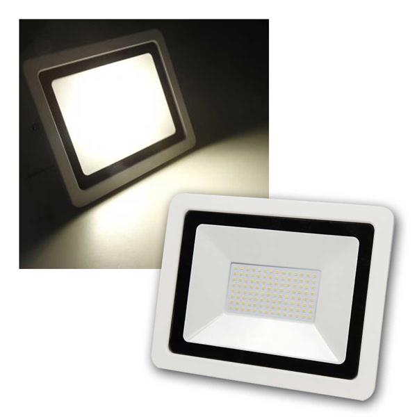 LED Fluter SMD-Slim 100W, 6700Lm, warmweiß IP44