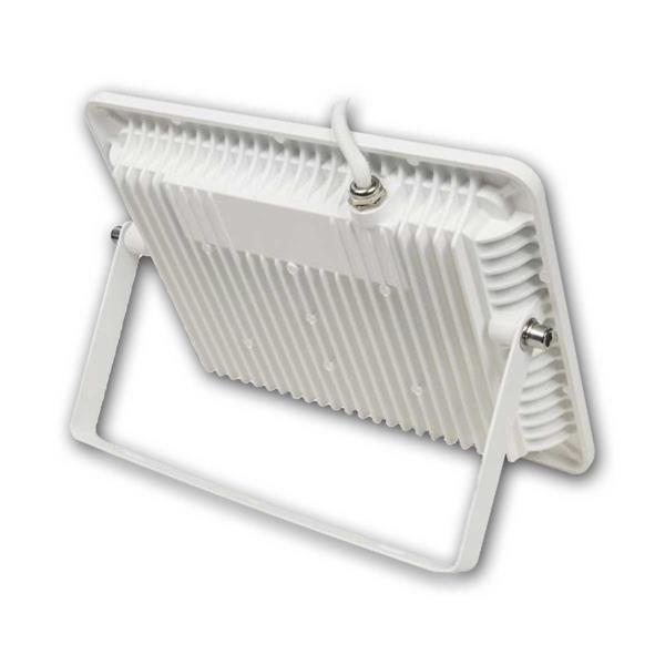 LED Flächenstrahler mit elegantem SlimLine Gehäuse und Metallhalterung