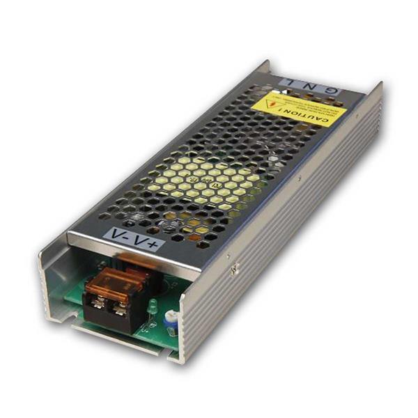 LED Transformator 150W, 12V DC, 12,5A, 220-240V