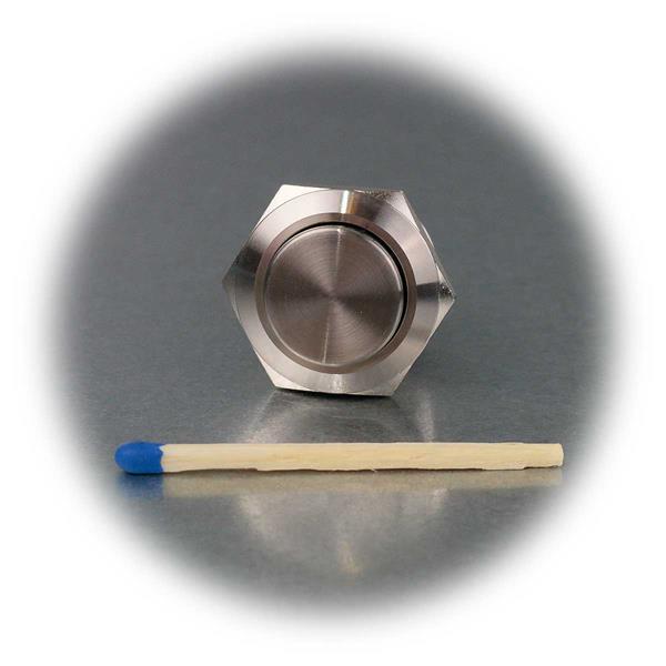 Strahlwassergeschützter 19mm Metalltaster