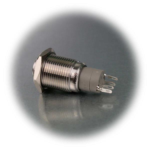 Metallschalter Öffner/Schließer mit Lötanschluss für Kabel