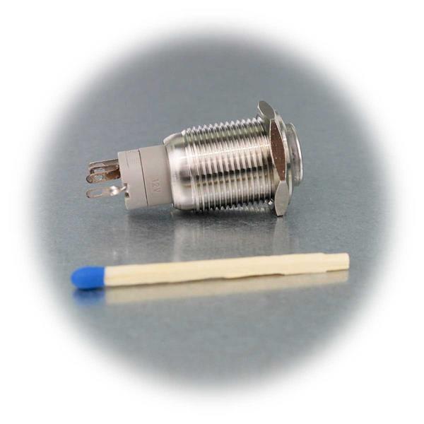 Edelstahl-Schalter mit Ø16mm und IP67
