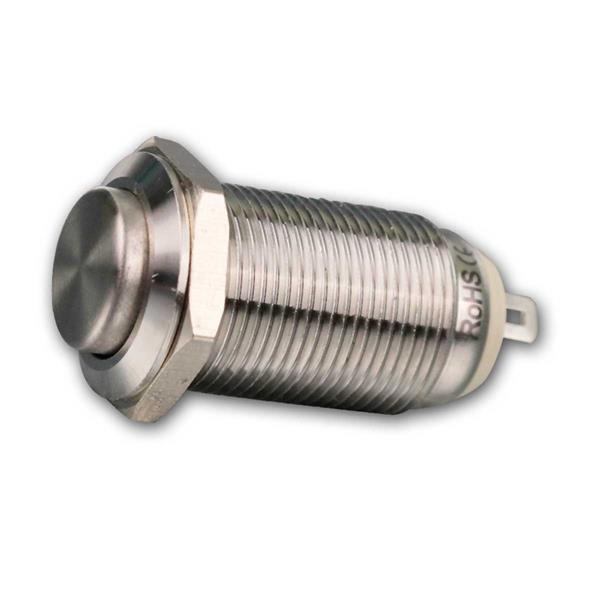 Metallschalter, 1-polig, 36V- 2A, Ø12mm, IP67