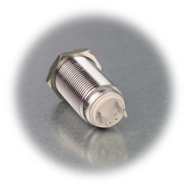 Metallschalter Schließer mit Lötanschluss für Kabel