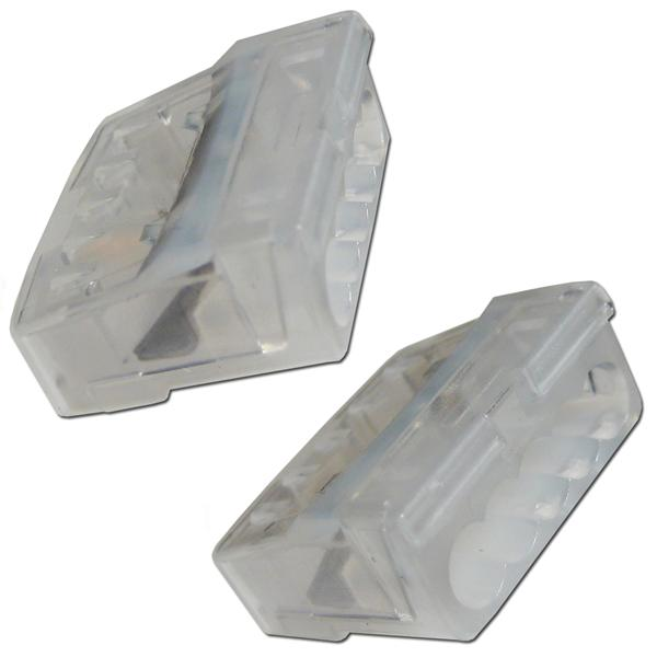 10 x Dosenklemmen, 5-polig, 1-2,5mm² transparent