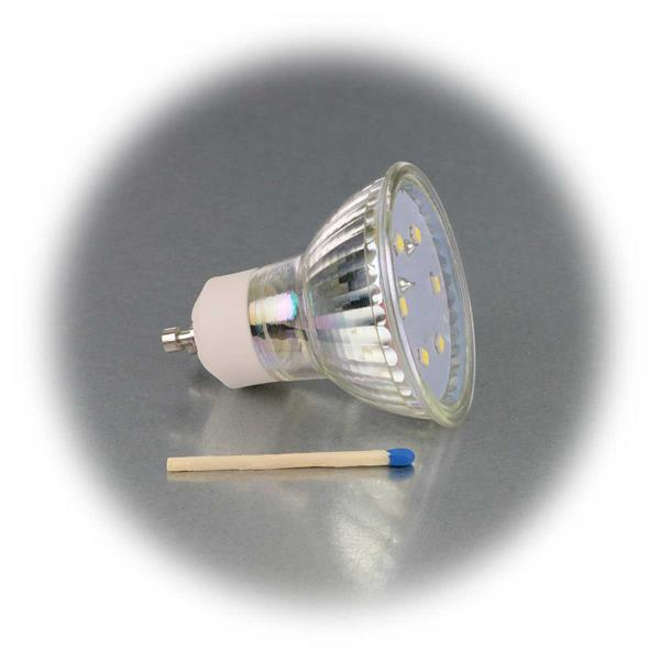 GU10 LED Energiesparlampe Maß 50x57mm