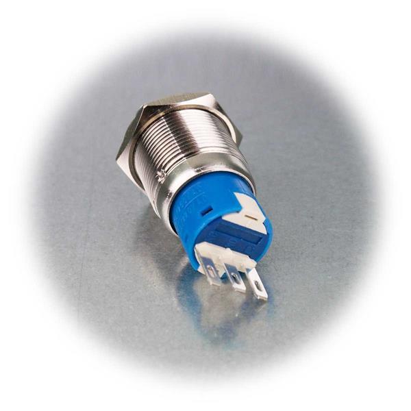 Ø19mm Drehschalter aus Edelstahl mit IP50