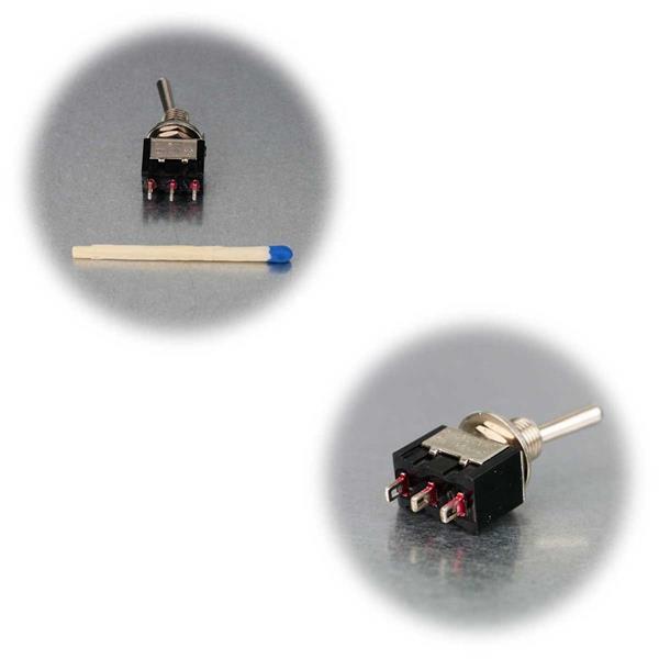 Mini-Kipptaster in 6 verschiedenen Typen und Ausführungen