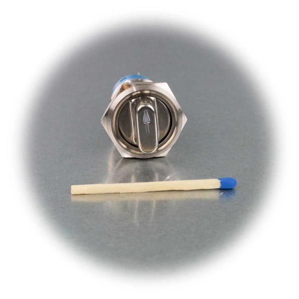 1- oder 2-poliger Drehschalter mit IP50