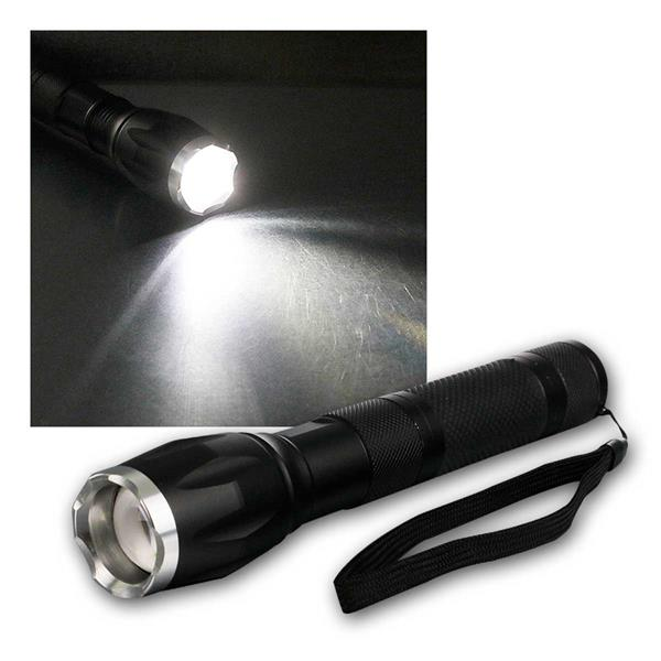 """LED-Taschenlampe """"CTL15 Zoom"""" 15W, 560lm"""
