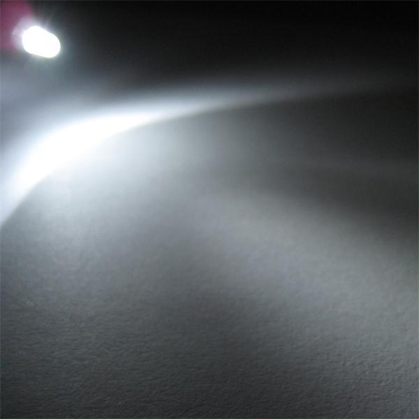 3mm LED mit breit abstrahlenden Öffnungswinkel