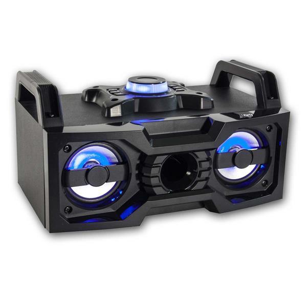 Soundbox mit USB, Bluetooth, Akku, 2x 25W