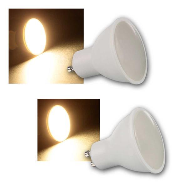 LED-Strahler PV-50/70, GU10, 5W/7W, warmweiß
