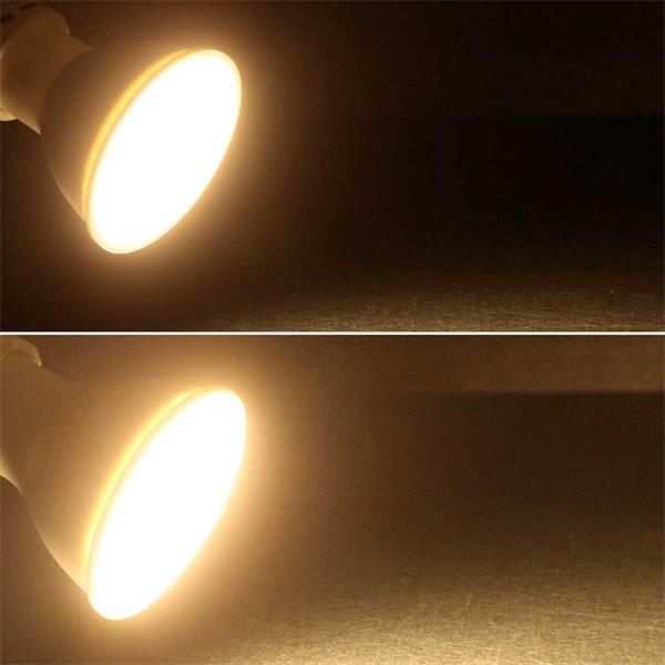 LED-Strahler mit GU10 -Strahler, 5 oder 7W in warmweiß