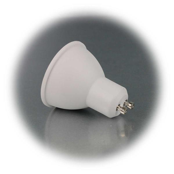 LED-Strahler mit GU10-Sockel in 2 W-Stärken
