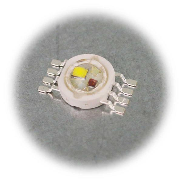 Leistungsstarker Highpower Chip mit RGBW-LEDs