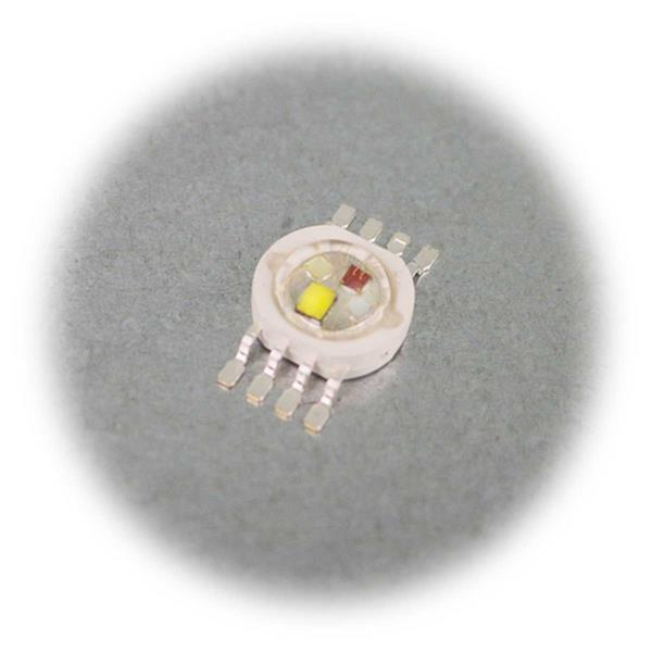 Hochleistungs-Chip mit 4x3W RGBW-LEDs