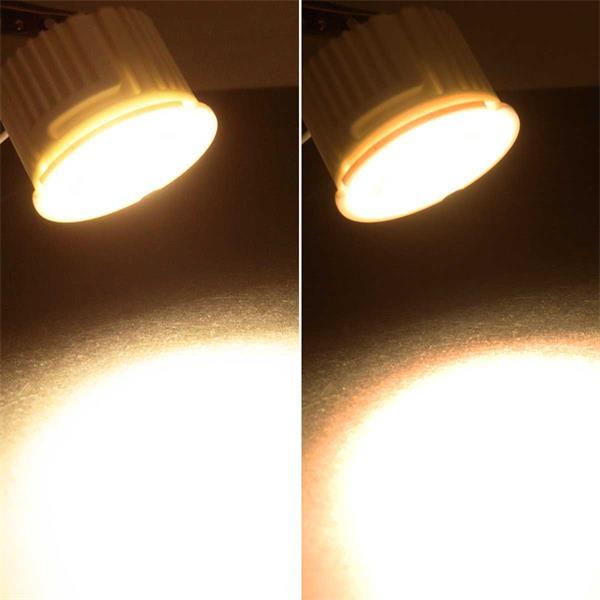 dimmbares LED Leuchtmittel mit warmweißer COB LED