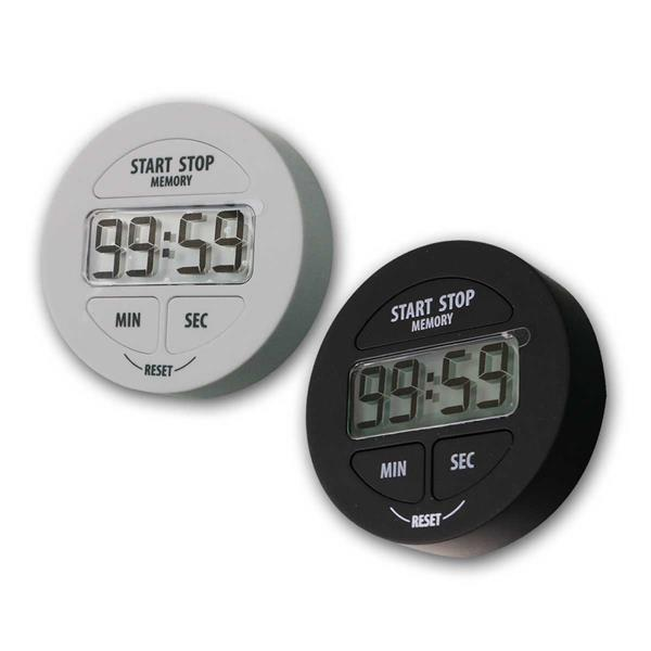 Digitaler Timer, Stoppuhr & Memoryfunktion, sw/ws