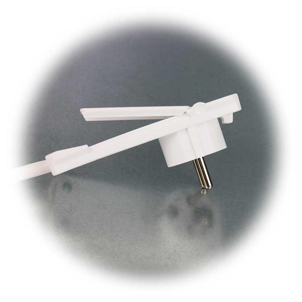 250V-Flachstecker mit 3fach-Verteiler