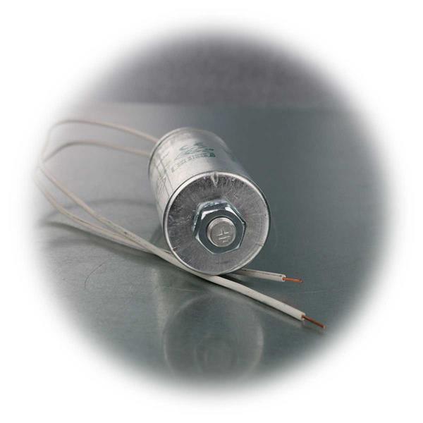 Arbeitskondensator mit 5,3 µF Kapazität
