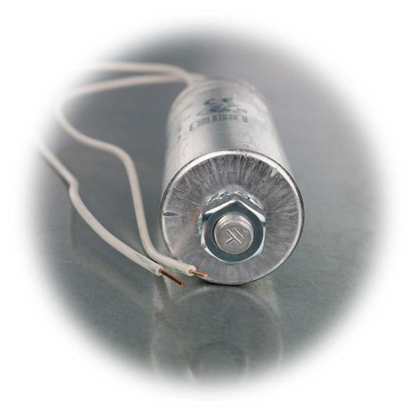 Anlaufkondensatoren unterschiedlicher Kapazitäten