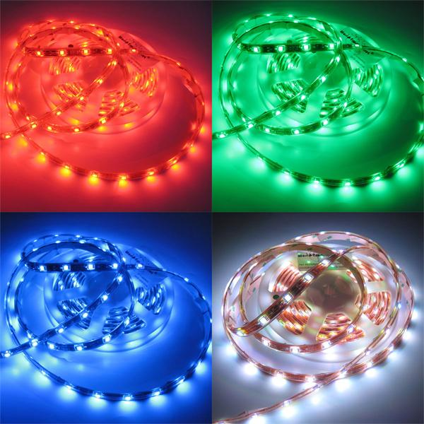 LED Lichtband mit statischen oder wechselnden Farben