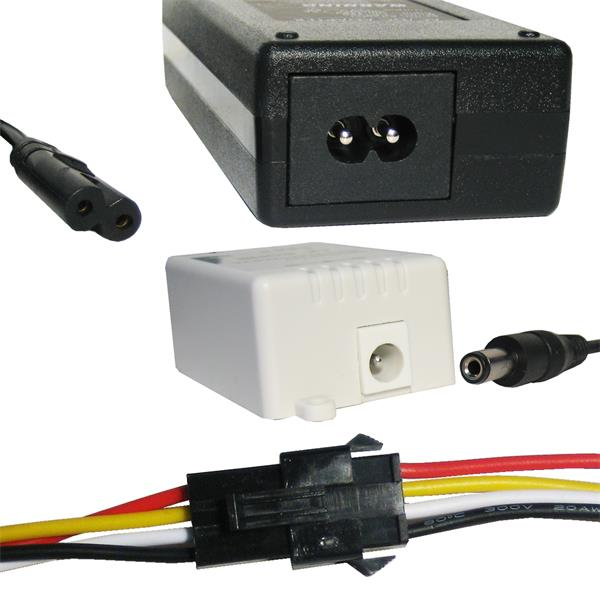 flexibler RGB LED Streifen als Komplett Set mit Steckernetzteil