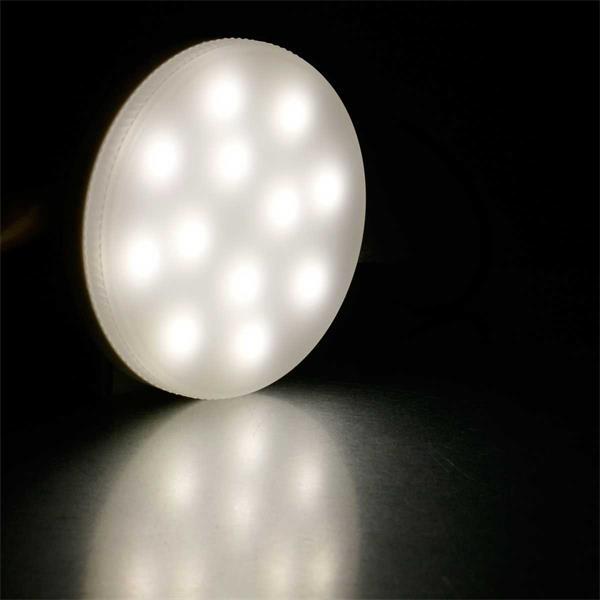 Neutralweiß leuchtender GX53-Strahler