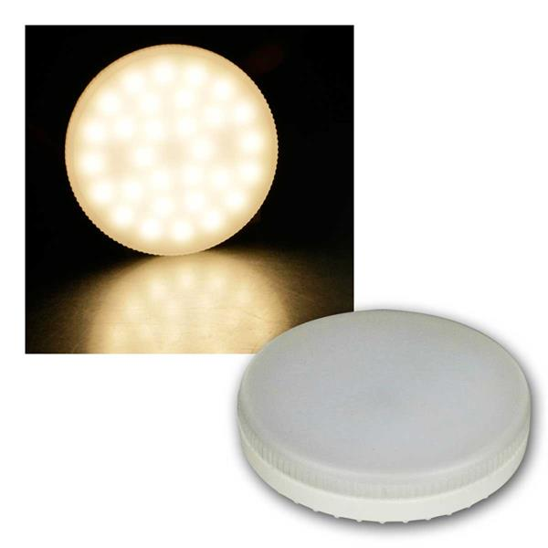 2x LED-Strahler LS-653, GX53, 6W, 580lm warmweiß