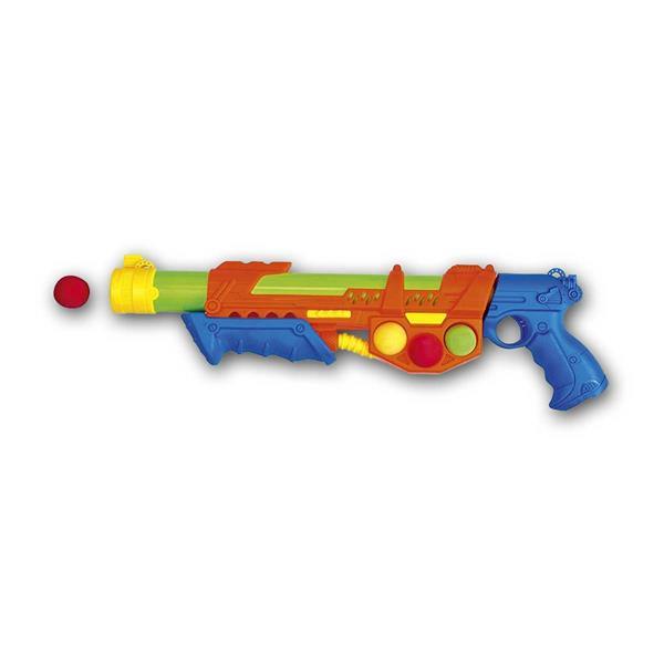 Wasser- und Softballpistole, 2 in 1, incl. 6 Bälle