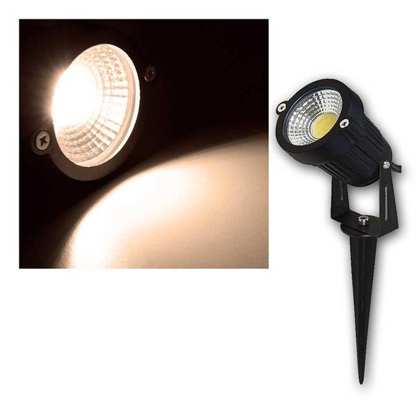 LED-Gartenleuchte GL-50W, 5W, 500 lm, warmweiß