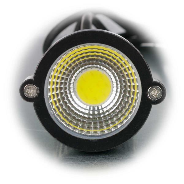 LED Außenstrahler mit neutralweißer COB LED für Lichtakzente