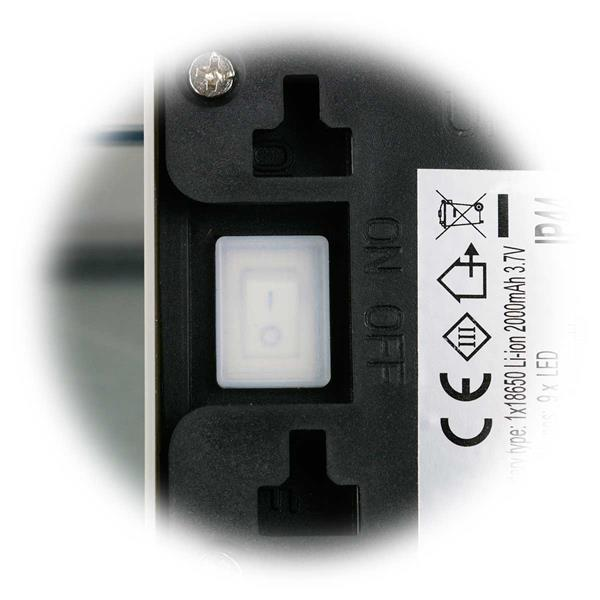 Solar LED Eingangsleuchte mit geschütztem Ein- und Ausschalter