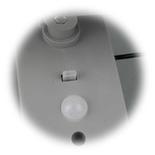 LED Außenstrahler mit 2 einstellbaren Funktionen