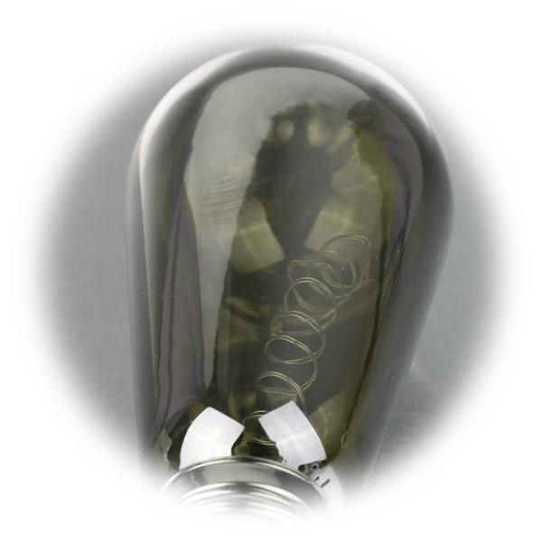 Deko Glühbirne mit integrierter LED Drahtlichterkette