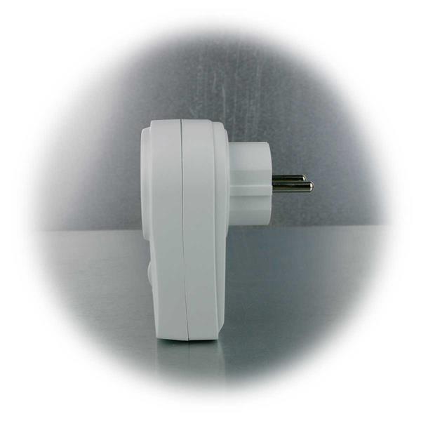 Zwischenstecker für die für LED Leuchtmittel, Glühlampen und Halogenlampen