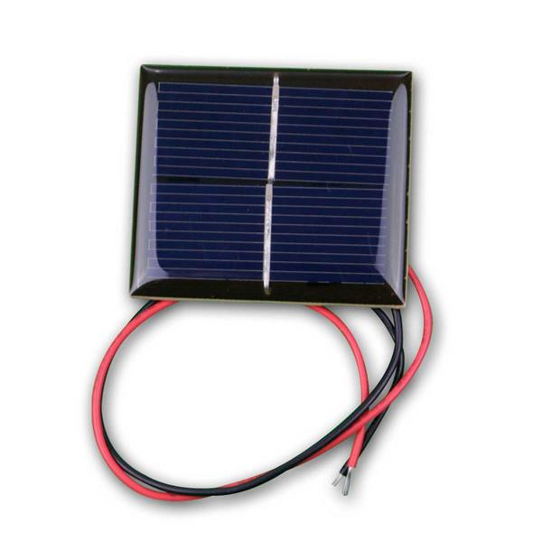 Solarzelle 1V/200mA - Mini Solarpanel gekapselt