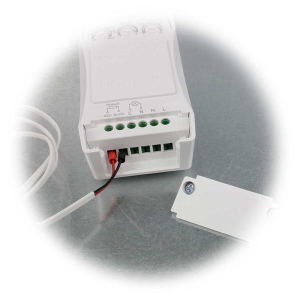 Mikrowellen Bewegungsmelder mit Schraubverbindungen für Anschluss