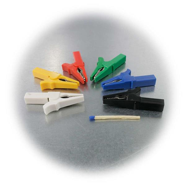 Abzweigklemmen mit Kunststoffummantelung und kräftiger Feder
